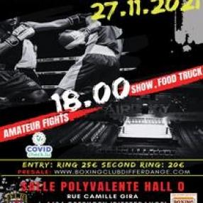 flyer Gala de Boxe 2021