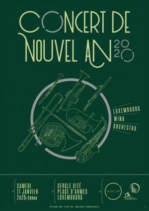 Concert de nouvel an Cercle Cité