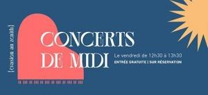 Concerts de midi